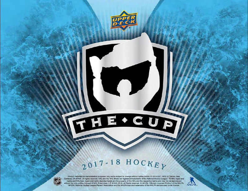 2017-18 Upper Deck The Cup NHL Hockey Hobby Case (Box of 6) - BigBoi Cards
