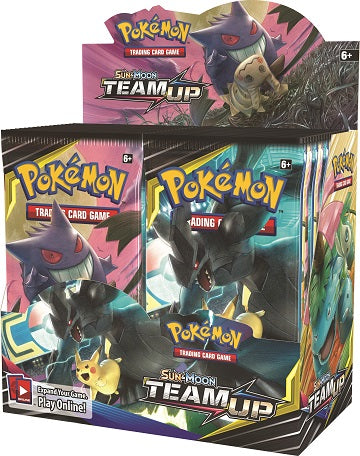 (Pre-Order) Pokemon Trading Card Game: Sun & Moon (SM9) Team Up Booster Box
