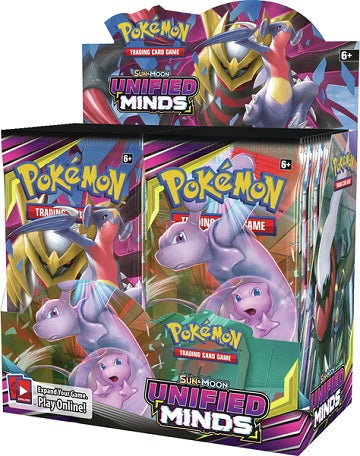 Pokémon SM11 Unified Minds Booster Sealed Box - Quecan Distribution