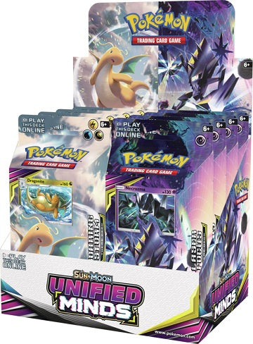 Pokémon TCG Sun & Moon: Unified Minds Theme Deck Box