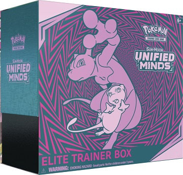 Pokémon TCG Sun & Moon: Unified Minds Elite Trainer Box - Quecan Distribution