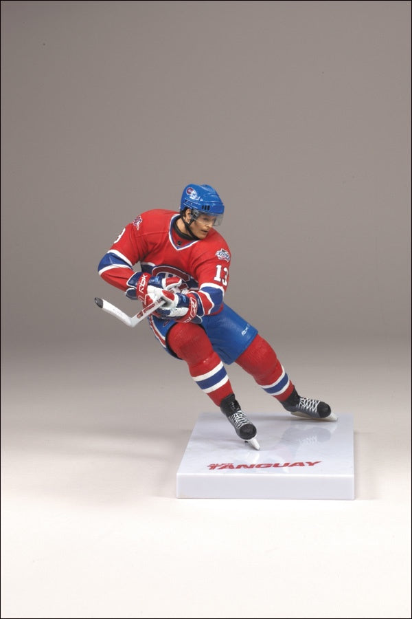 McFarlane NHL Series 21 Alex Tanguay Montreal Canadiens Red Jersey 6 inch Figurine - BigBoi Cards