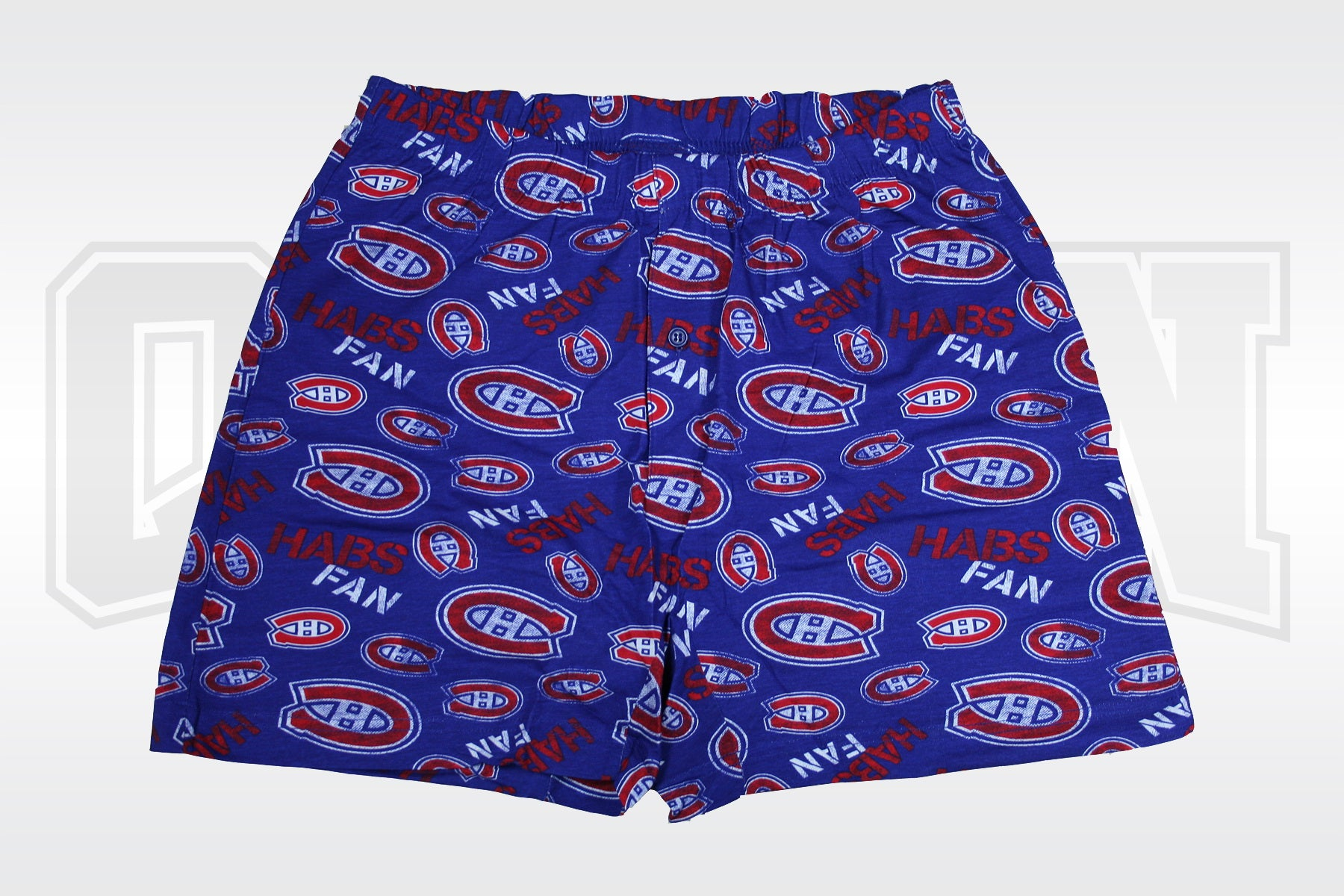 Montreal Canadiens Blue Multi Logo - Shorts
