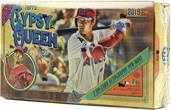 2019 Topps Gypsy Queen Baseball Hobby Box - BigBoi Cards