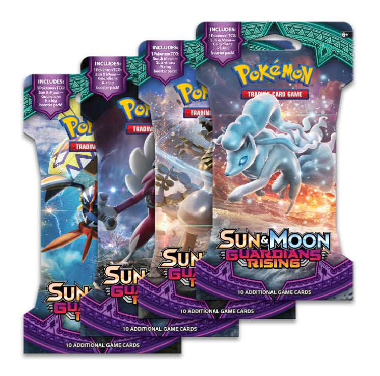 Pokemon Guardians Rising Sleeved Booster Pack (24 packs a lot)