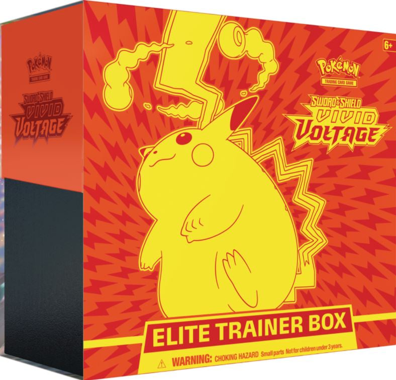 Pokemon Sword & Shield: Vivid Voltage Elite Trainer Box - BigBoi Cards