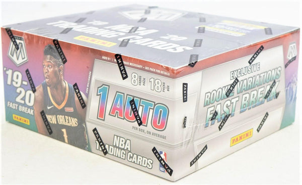 2019-20 Panini Mosaic Fast Break Basketball Hobby Box - BigBoi Cards
