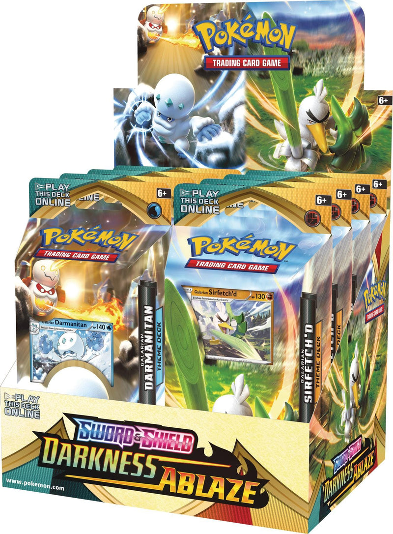 Pokemon Sword & Shield: Darkness Ablaze Theme Deck Box - BigBoi Cards