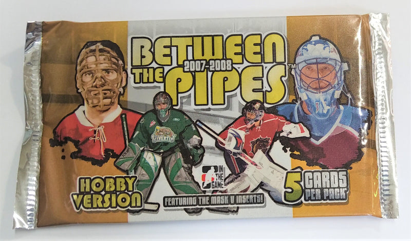 2007-08 ITG Between The Pipes Hobby Pack (24 Pack Lot) - BigBoi Cards