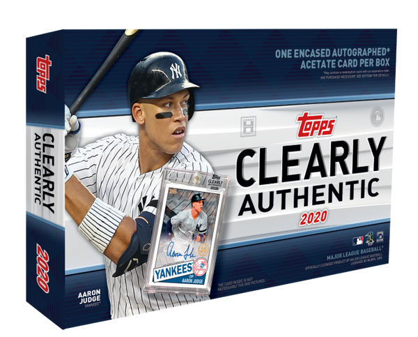 2020 Topps Clearly Authentic Baseball Hobby Box - BigBoi Cards