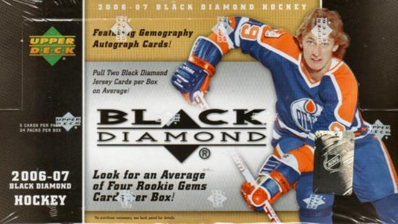 2006-07 Upper Deck Black Diamond Hockey Hobby Box - BigBoi Cards