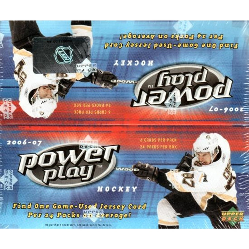 2006-07 Upper Deck Power Play Hockey Box - BigBoi Cards