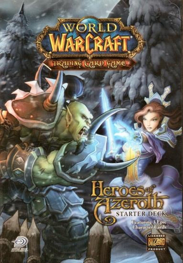 World Of Warcraft Heroes Of Azeroth Starter Deck - BigBoi Cards