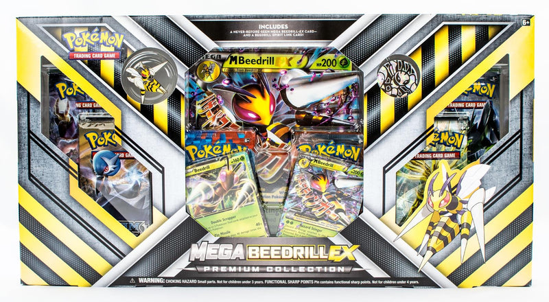 Pokémon TCG: Mega Beedrill-EX Premium Collection - BigBoi Cards