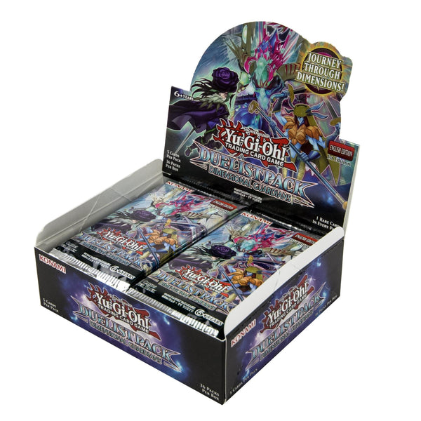 Konami Yu-Gi-Oh! TCG: Duelist Pack: Dimensional Guardians First Edition Booster Box - BigBoi Cards