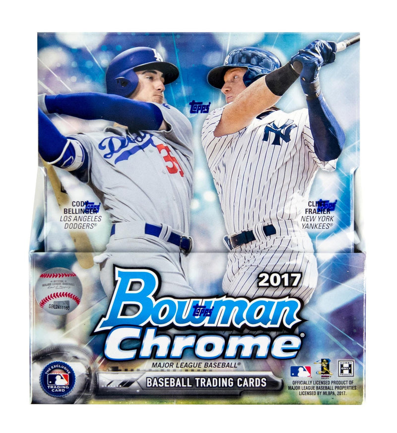 2017 Bowman Chrome Baseball Hobby Box - BigBoi Cards