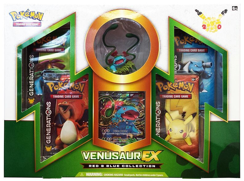 Pokemon TCG Red and Blue Collection Venusaur EX Box - BigBoi Cards
