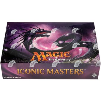 Magic The Gathering: Iconic Masters Booster Box - BigBoi Cards
