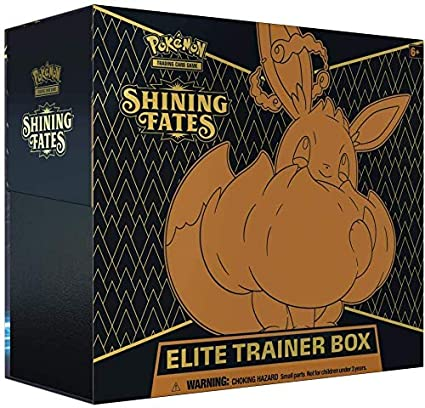 Pokemon Shining Fates Elite Trainer Box - BigBoi Cards