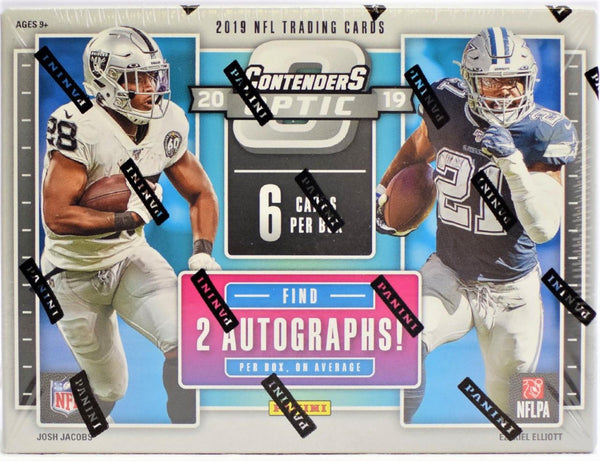 2019 Panini Contenders Optic Football Hobby Box - BigBoi Cards