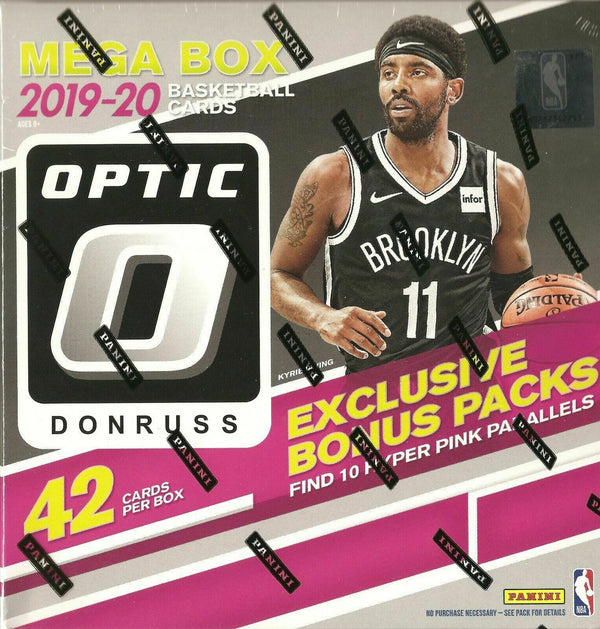 2019-20 Panini Donruss Optic Basketball Mega Box - BigBoi Cards