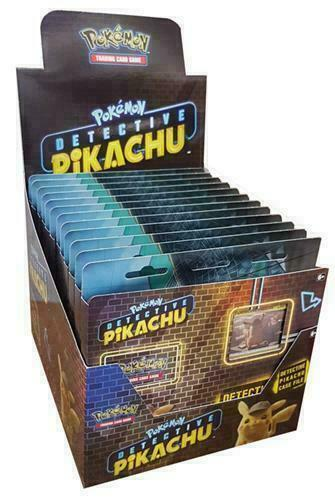 Pokemon TCG Detective Pikachu Case File Display 12 Boxes/36 Booster Packs - Quecan Distribution