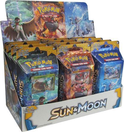Pokemon Sun & Moon Theme Deck Box of 12 Decks - BigBoi Cards
