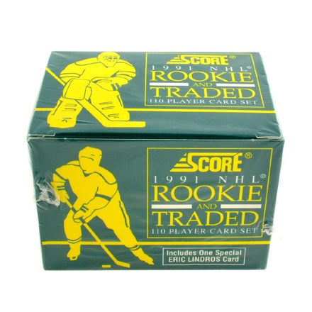 1991  Score NHL Rookie and Traded Card Set Box - BigBoi Cards