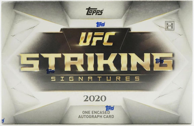 2020 Topps UFC Striking Signatures Hobby Box - BigBoi Cards