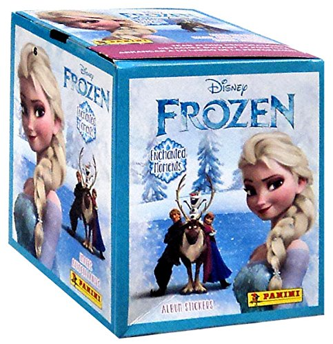 2015 Panini Disney Frozen Enchanted Moments Sticker Box - BigBoi Cards