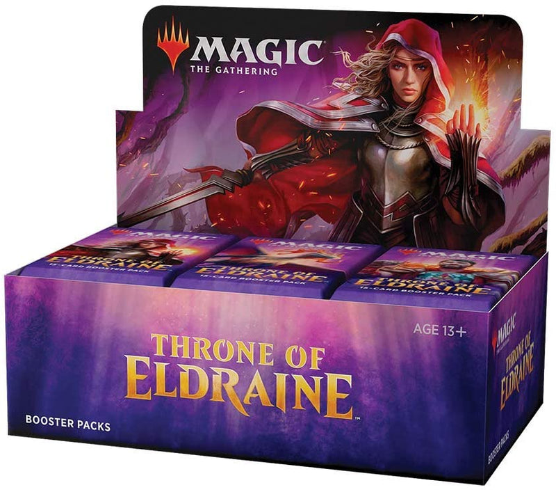 Magic The Gathering Throne Of Eldraine Booster Box - BigBoi Cards