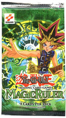 Yu Gi Oh!  Magic Ruler Blister Pack (Lot of 2) - BigBoi Cards