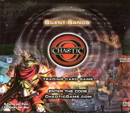 Chaotic Silent Sands Booster Box First Edition - Quecan Distribution