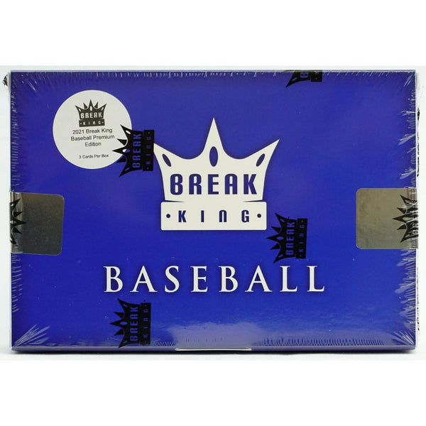 2021 Break King Baseball Premium Edition Box