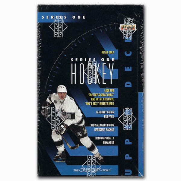 1993-94 Upper Deck Series 1 Hockey Retail Box - BigBoi Cards