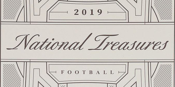 2019 Panini National Treasures Football Hobby Box - BigBoi Cards