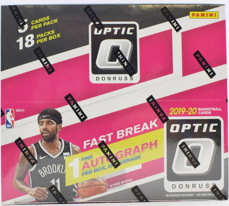 2019-20 Panini Donruss Optic Fast Break Basketball Hobby Box - BigBoi Cards