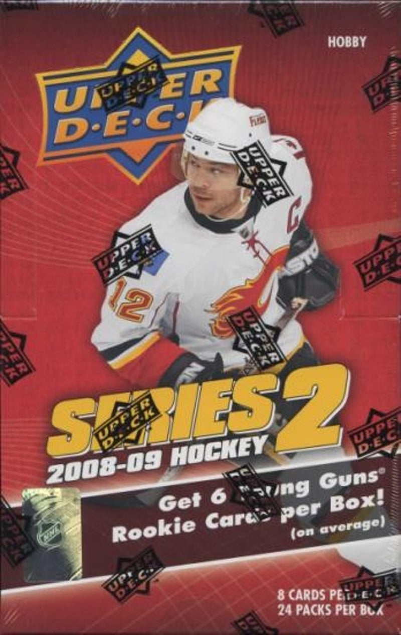 2008-09 Upper Deck Series 2 Hockey Hobby Box - BigBoi Cards