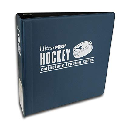 "Ultra Pro 3"" Hockey Card Collectors Album (Black and/or Navy Blue) (Lot of 2) - BigBoi Cards"