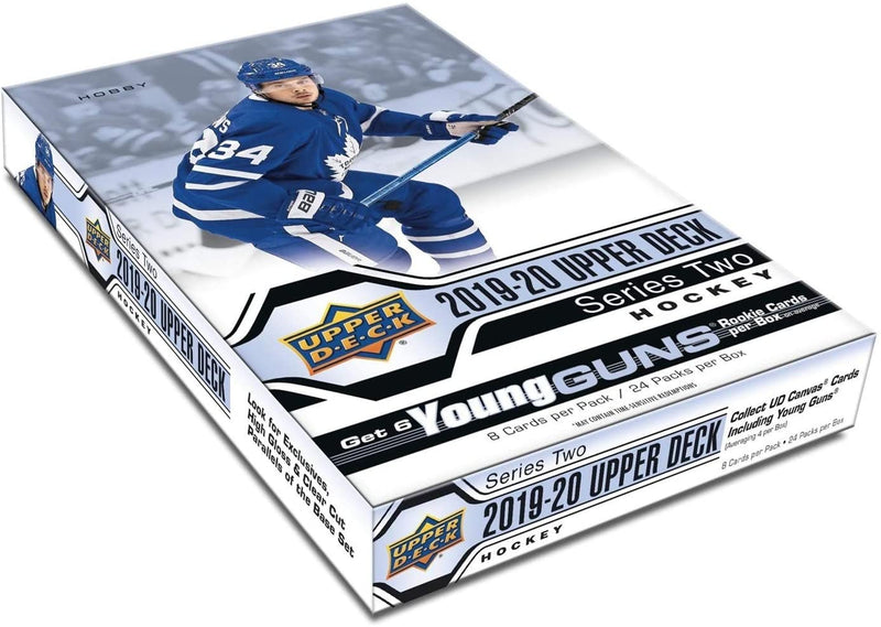 2019-20 Upper Deck Series 2 Hockey Hobby Case (Boxes of 12) - BigBoi Cards