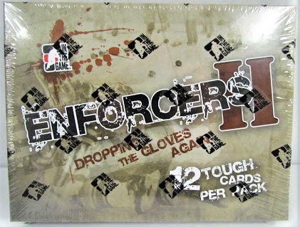 2013-14 In The Game Enforcers II Hockey Hobby Box - BigBoi Cards