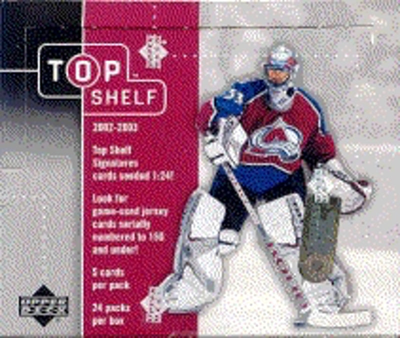 2002-03 Upper Deck Top Shelf Hobby Box - BigBoi Cards