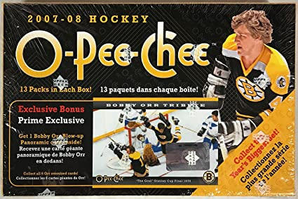 2007-08 O-Pee-Chee Hockey Blaster Box - BigBoi Cards