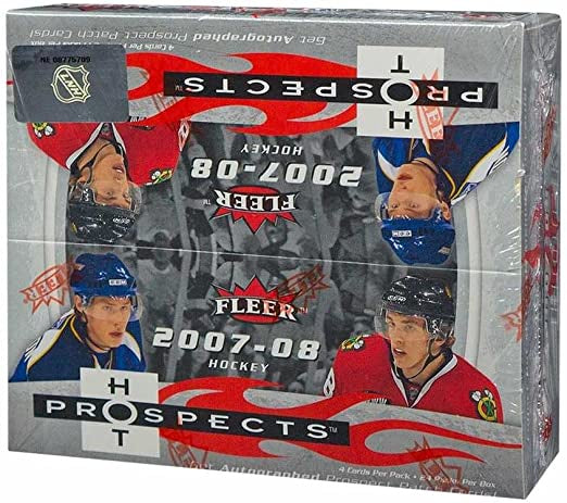 2007-08 Fleer Hot Prospects Hockey Retail Box - BigBoi Cards