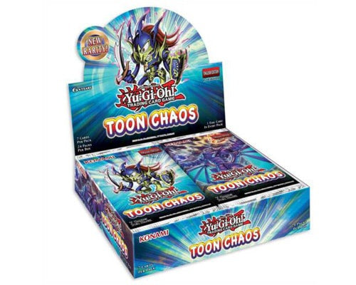 Yu-Gi-Oh Toon Chaos Unlimited Booster Box - BigBoi Cards