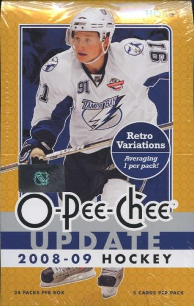 2008-09 Upper Deck O-Pee-Chee Update Hockey Hobby Sealed Box - BigBoi Cards