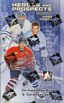 2007-08 In The Game heroes & Prospects Arena Version Hockey Box - BigBoi Cards