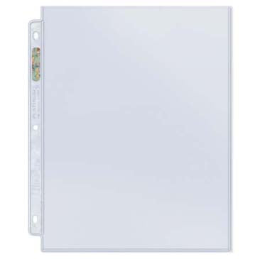 "Ultra Pro 1-Pocket Platinum Page with 8-1/2"" X 11"" Pocket - Quecan Distribution"