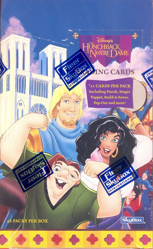 Disney Hunchback of Notre Dame Hobby Box (1996 Fleer/Skybox) - BigBoi Cards