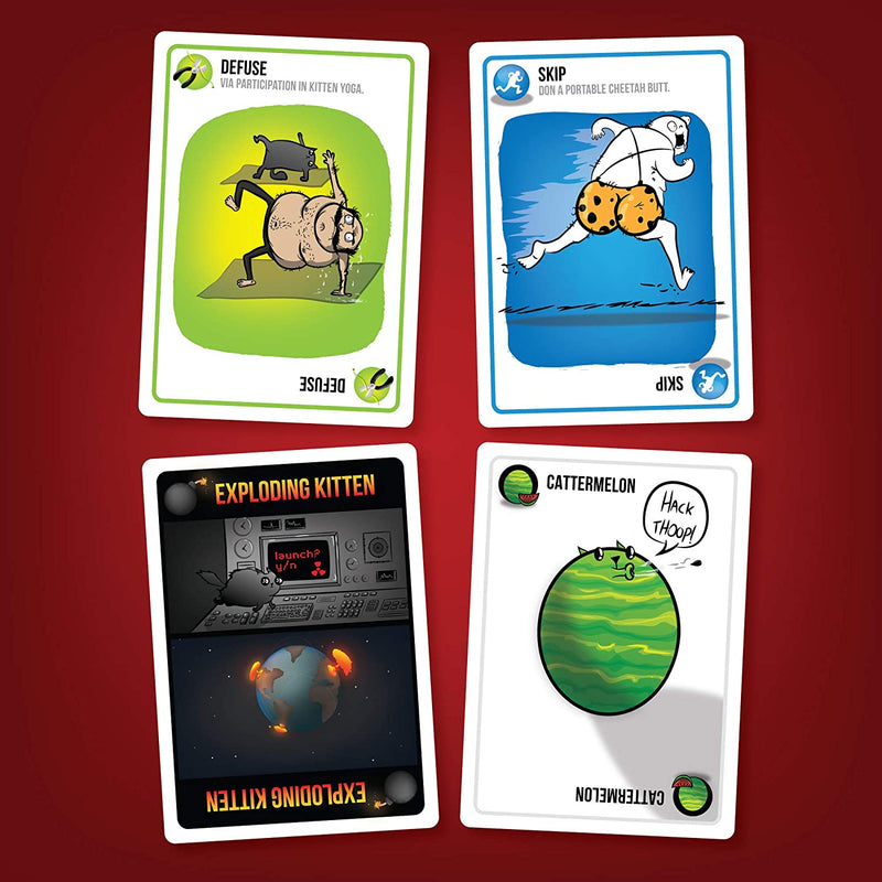 Exploding Kittens Card Game Original Edition - BigBoi Cards